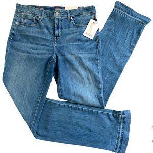 NYDJ Rhodes Lift Tuck Marilyn Straight Jeans 12